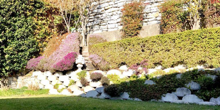 Villa Cernobbio Como giardino