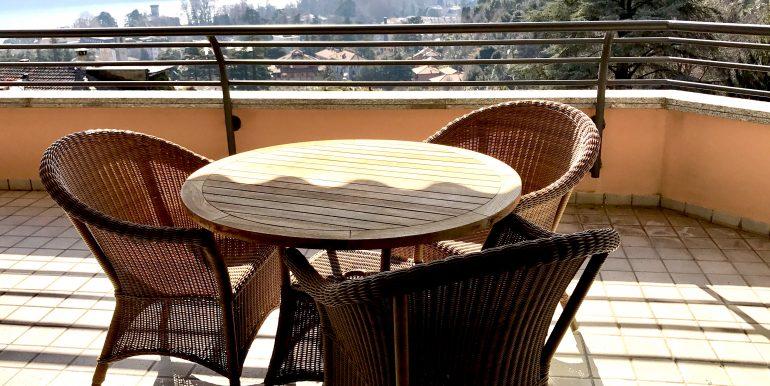 Villa Como Cernobbio terrazzo panoramico