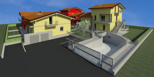Villa di testa bifamiliare in vendita a Faloppio