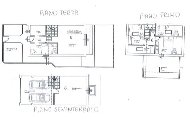 Villa di testa bifamiliare in vendita a faloppio for Affitto arredato faloppio