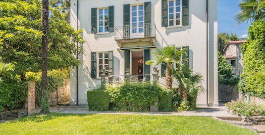 Splendida villa singola con giardino a Cernobbio vista Lago di Como