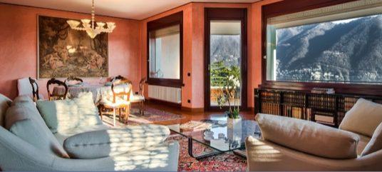 Bellissimo appartamento signorile con vista sul lago in affitto a Cernobbio