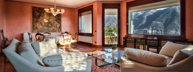 Bellissimo appartamento signorile con vista lago in affitto a Cernobbio