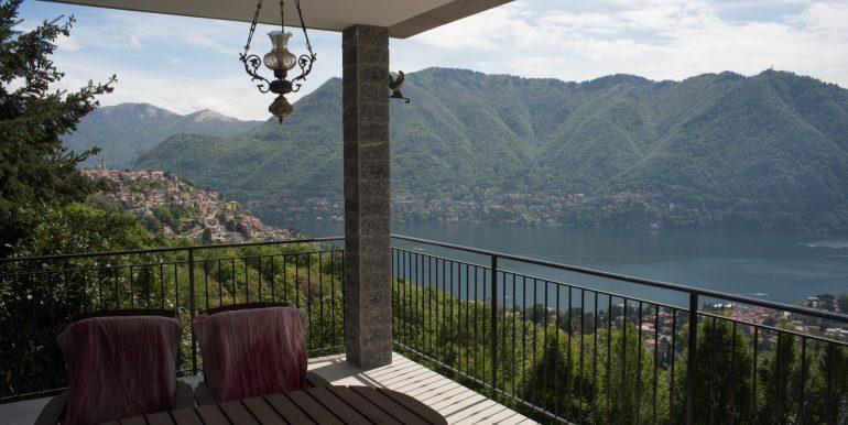 Frontal terrace