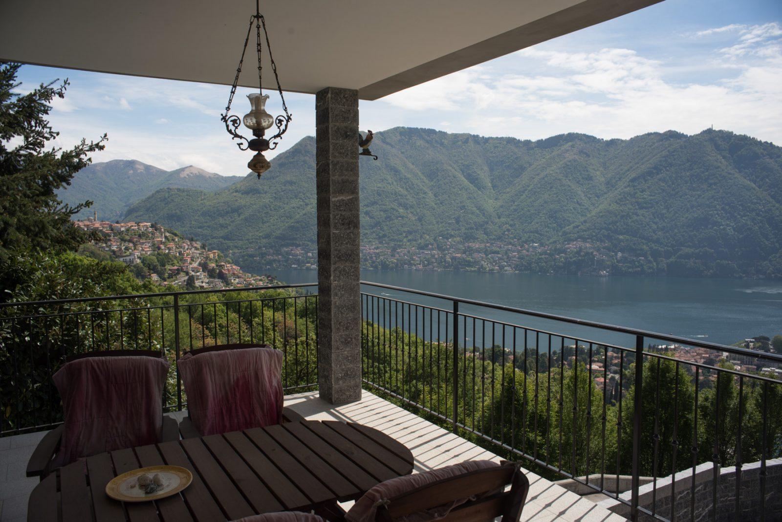 Villa con vista lago panoramica in vendita a Cernobbio