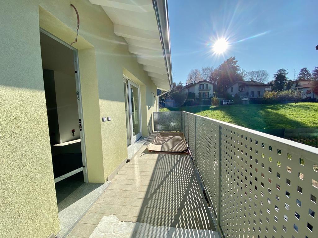 Quadrilocale con giardino privato in nuova quadrifamiliare a Colverde