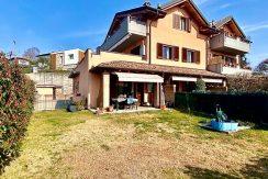 Quadrilocale con giardino privato a San Fermo