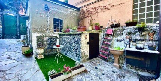 Appartamento quadrilocale Como-Monte Olimpino con giardino
