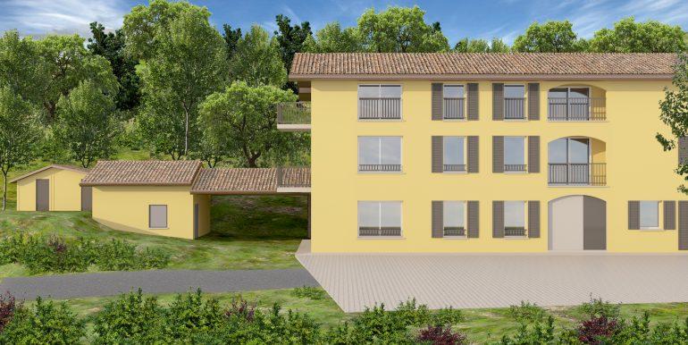 1Nuovo appartamento San Fermo con giardino privato