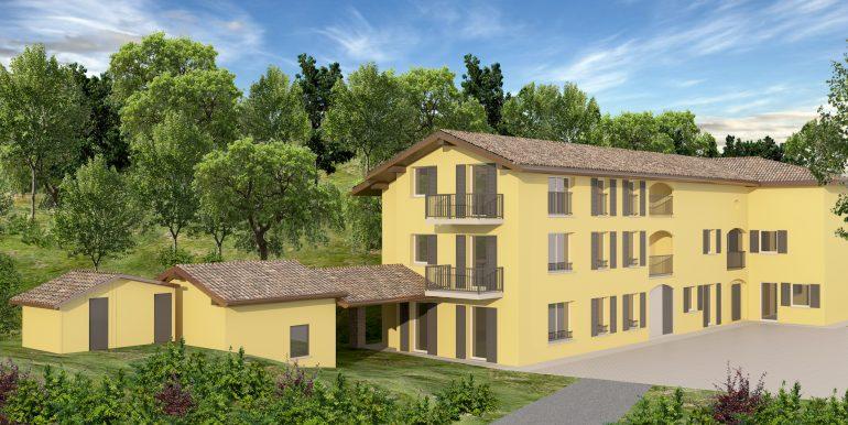 2Nuovo appartamento San Fermo con giardino privato