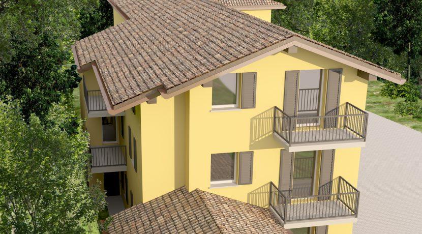 3Nuovo appartamento San Fermo con giardino privato