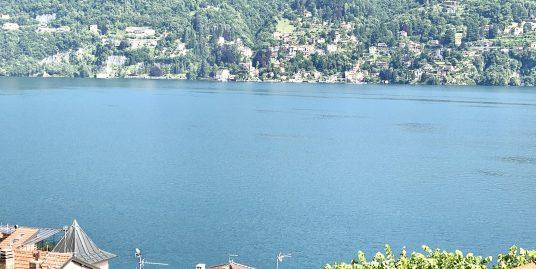 Casa con vista lago a Carate Urio con terrazzo