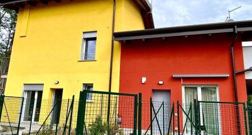 Ville in nuova costruzione con giardino in vendita a Faloppio
